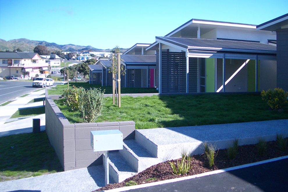 Parking in front of the house - Auckland Design Manual