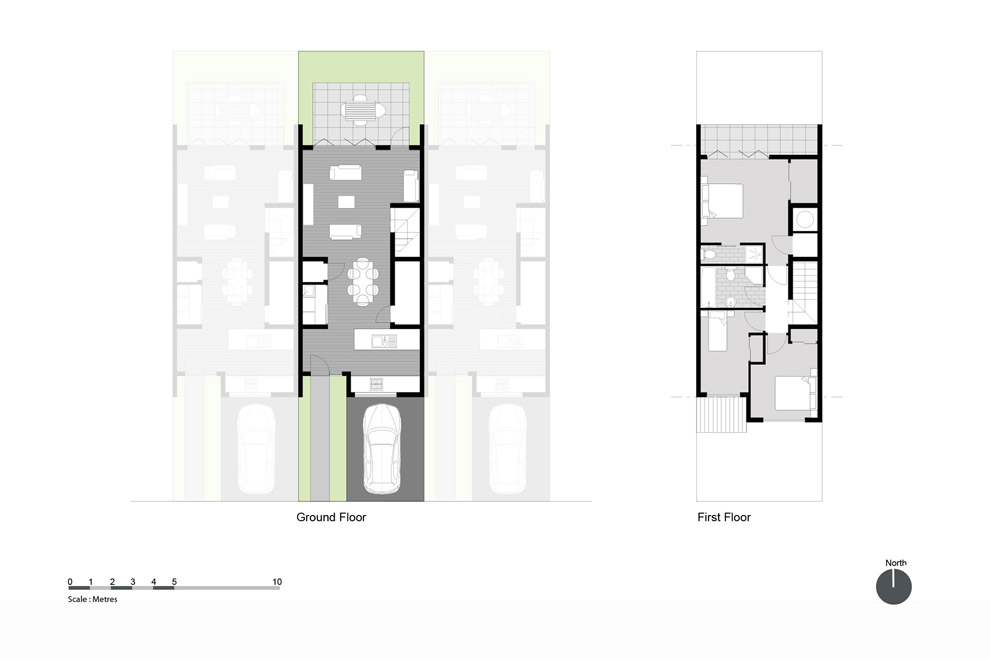 Exciting terraced house floor plan gallery best for Best small house designs nz
