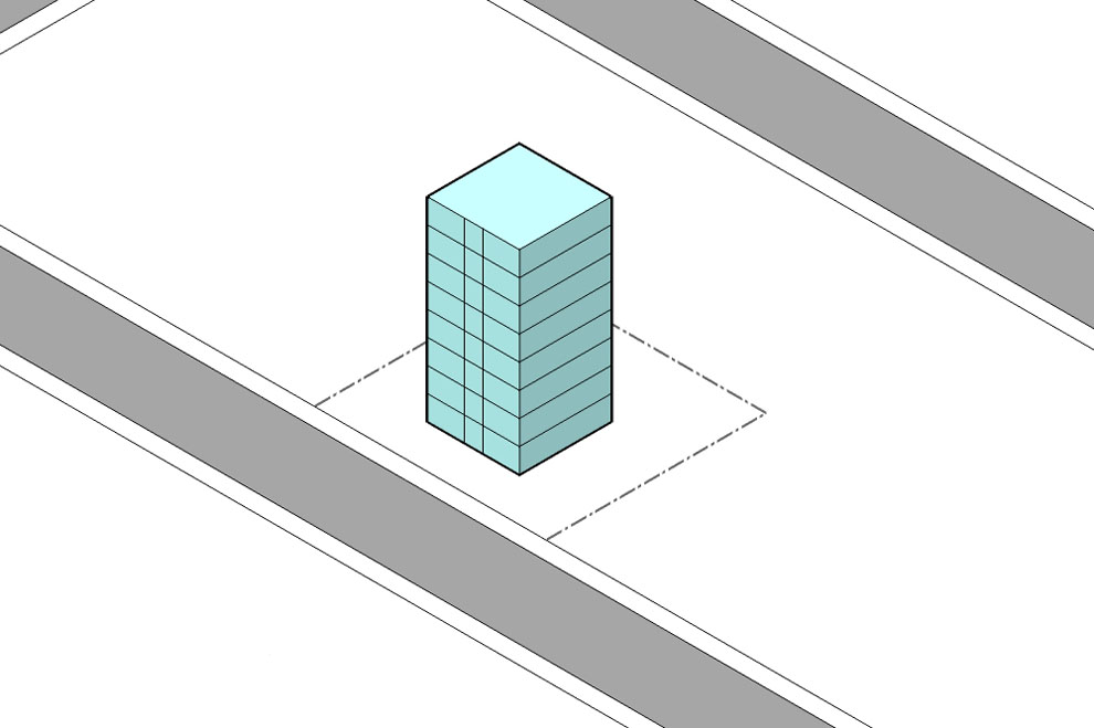 Apartment building types: Basic forms - Auckland Design Manual
