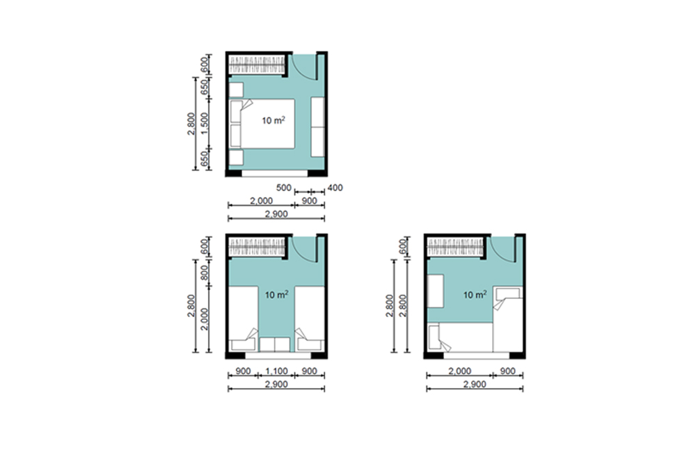 Average size of one bedroom apartment melbourne bedroom - Average 1 bedroom apartment size ...
